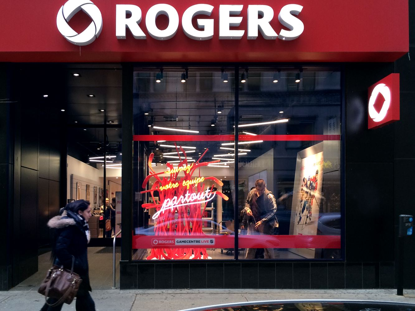 Rogers Montreal Custom Window