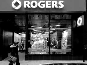 Rogers Montreal Custom Window black and white
