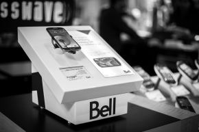 Bell phone display